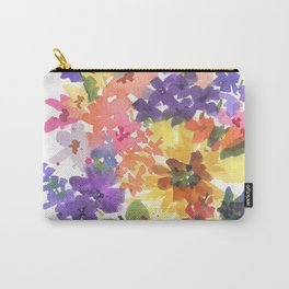 Sunny Bouquet Carry-All Pouch