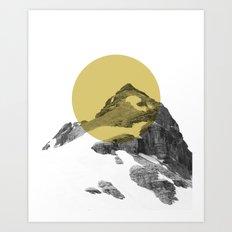 GULD MÅL Art Print