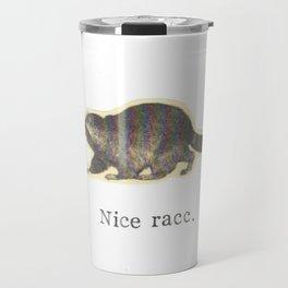 Nice Racc Vintage Raccoon Travel Mug