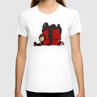 peanuts T-shirts featuring Dragon Peanuts by le.duc
