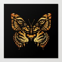 camouflage Canvas Prints featuring Camouflage by Enkel Dika