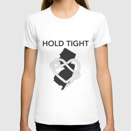 Hold Tight NJ - B&W T-shirt