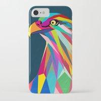 eagle iPhone & iPod Cases featuring Eagle by mark ashkenazi