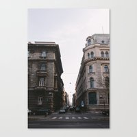 budapest Canvas Prints featuring Budapest by Andreas Gillström