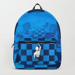Walking on Backpack