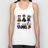 evil Tank Tops featuring Evil kokeshis by Pendientera