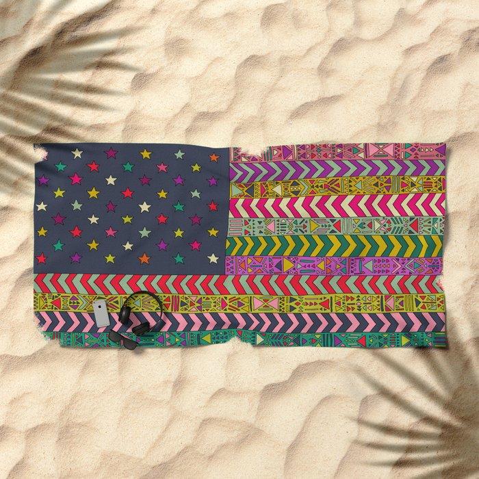 MY USA Beach Towel