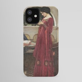John William Waterhouse - The crystal ball iPhone Case