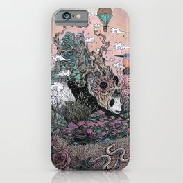 Land of the Sleeping Giant iPhone Case