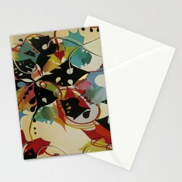 Rainbow Floral- Fantasy Decoupage  Stationery Cards