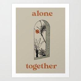 Alone Together Art Print