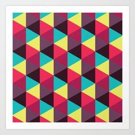 Isometrix 018 Art Print