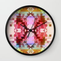 southwest Wall Clocks featuring Southwest by Dnzsea