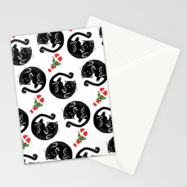 Christmas cat Stationery Cards