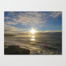 Storm Subsiding Canvas Print