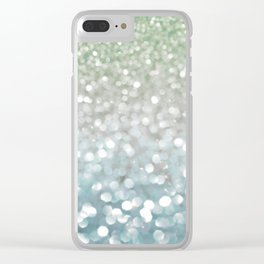 Winter Flurries Clear iPhone Case