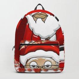 MoCKiNg SaNta Fire Neon Backpack