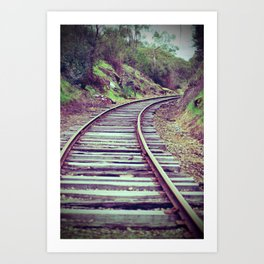 Valley Railway Art Print