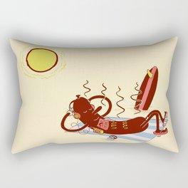 Sausage Fest Rectangular Pillow