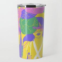Brazilian Native Girl Travel Mug