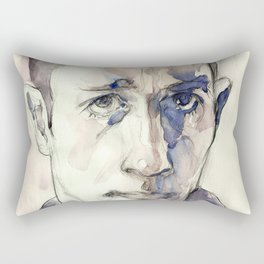 Jack Kerouac Rectangular Pillow