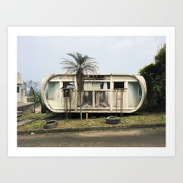 Abandoned Venturo House Art Print