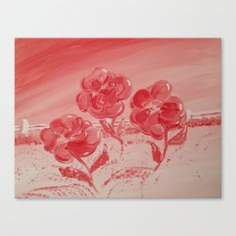 Red Time Canvas Print