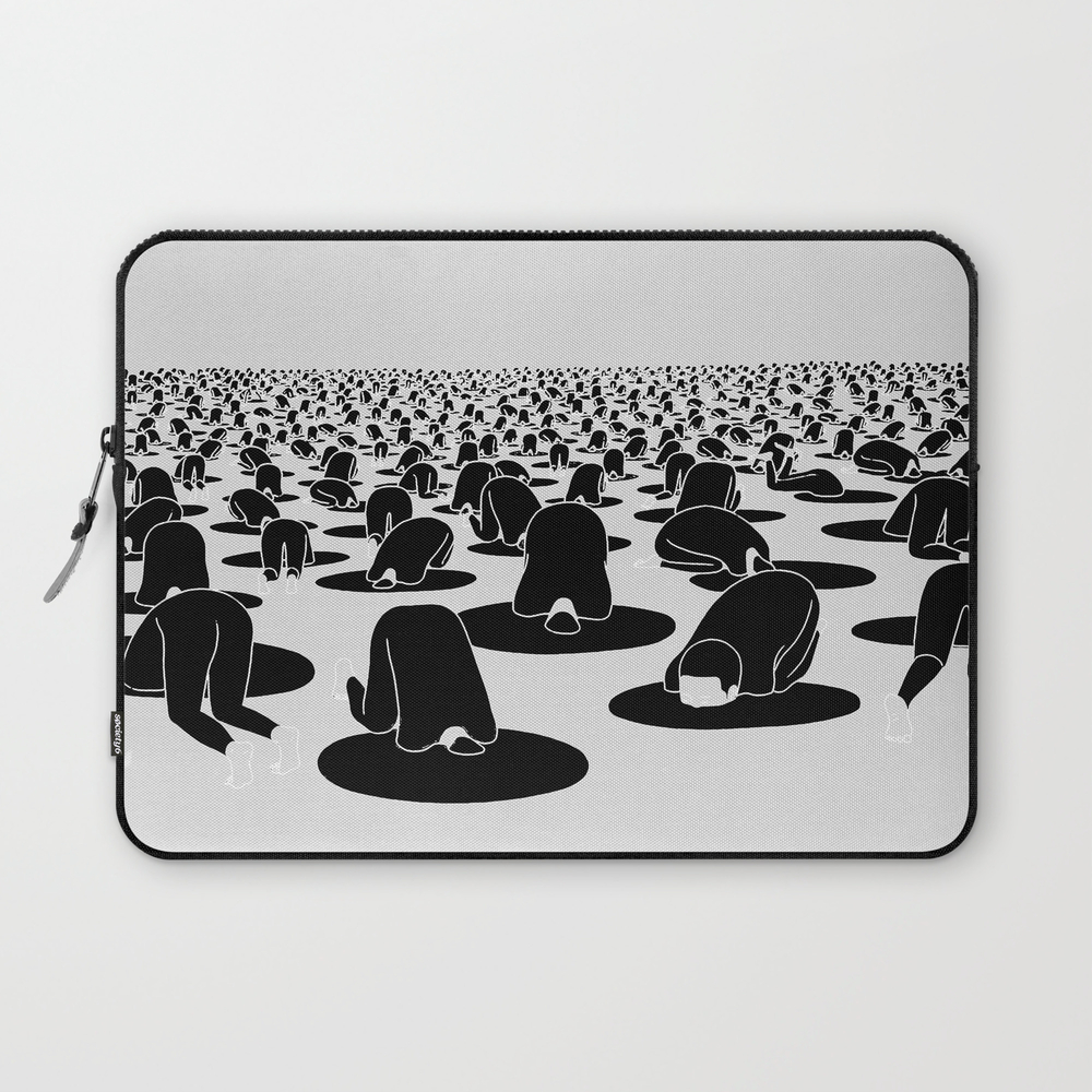 Head In The Hole Laptop Sleeve LSV7809636