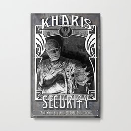 Kharis Security Service Metal Print