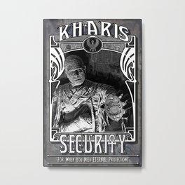 Kharis Security Service Metal Print
