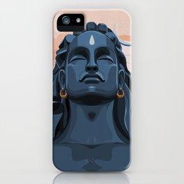 Adiyogi Shiva - The Source of Yoga iPhone Case
