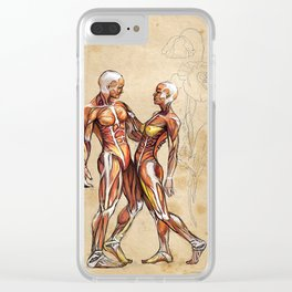 Our Bodies are One. Clear iPhone Case