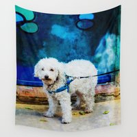 caleb troy Wall Tapestries featuring The Adventures Of Troy I by Louisa Catharine Photography