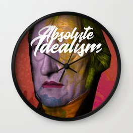 Friedrich Hegel Wall Clock
