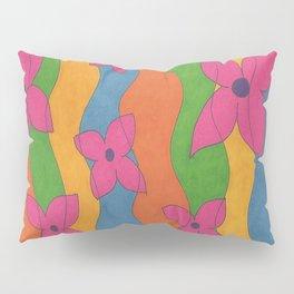 Retro: Flower Power Pillow Sham