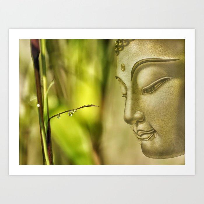 Buddha (3) Art Print