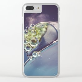 Tiny World 1 Clear iPhone Case