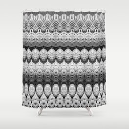 Rattan Shower Curtain