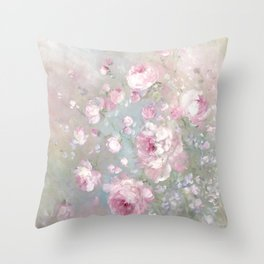 Spring Magic Throw Pillow
