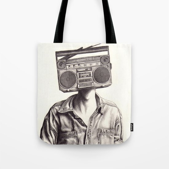 Radio-Head Tote Bag