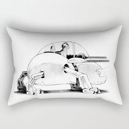Mecha Kitty Rectangular Pillow