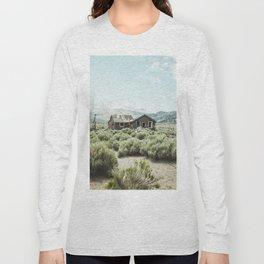 Old house in desert Long Sleeve T-shirt