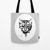 hamlet Tote Bags featuring Hamlet by Iris V.