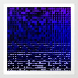 CubistNation 11 Art Print