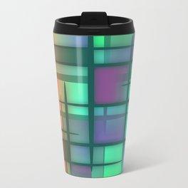 Abstract Design 6 Metal Travel Mug