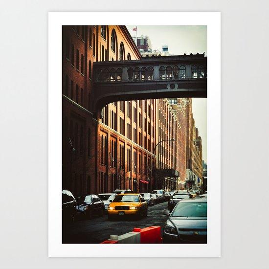New York - Chelsea Market Art Print