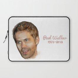 Paul Walker Laptop Sleeve