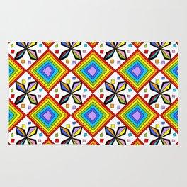 symetric patterns 75-mandala,geometric,rosace,harmony,star,symmetry Rug