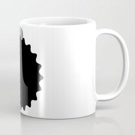 Durian_Shape_Vector_B&W Coffee Mug