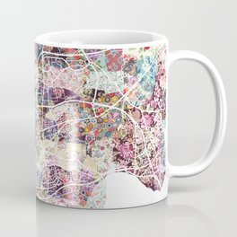 Brest map Coffee Mug